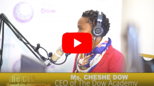 Meet the CEO - Cheshe Dow TDA